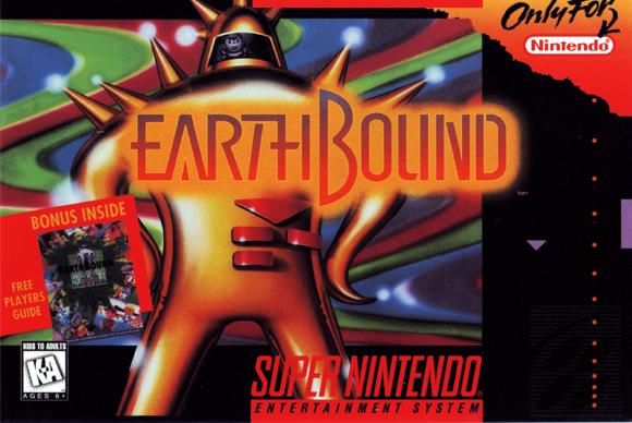 Earthbound Cartridge Art