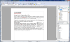 Apache OpenOffice 4.0 Write screenshot