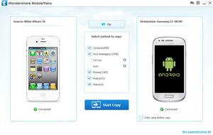 MobileTrans 3.3 screenshot