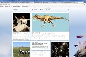 Opera 18 screenshot Discover feature