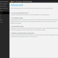 avast advanced settings