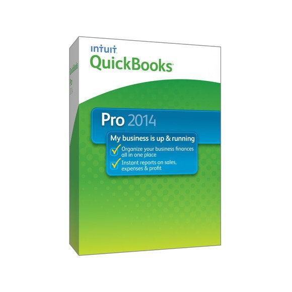 intuit quickbooks pro 2014 box shot