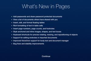 iwork icloud updates