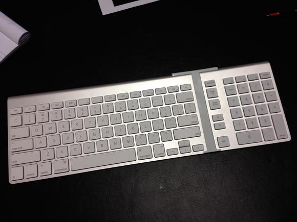 owc numeric keypad prototype