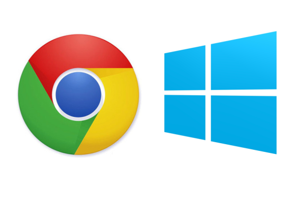 chrome windows logos