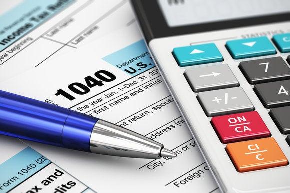 taxes calclulator IRS 1040