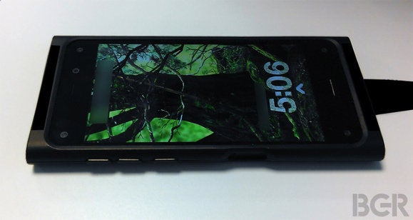 Here's your rumored Amazon phone, 3D interface and all, now in allegedly leaked photos