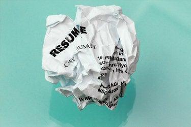 resume crumpled 136398587