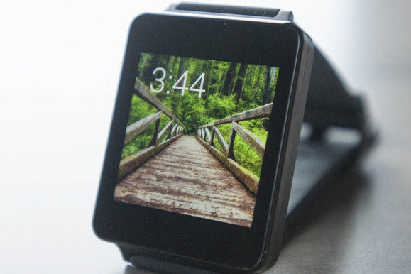 android wear clock