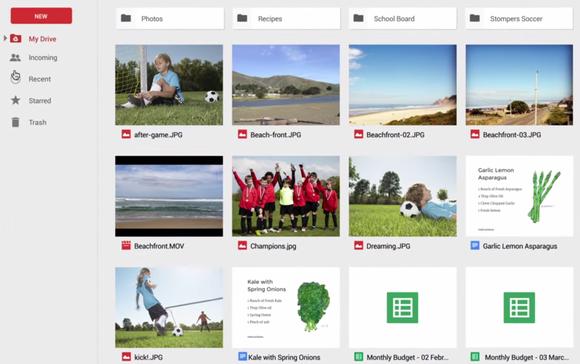 google drive icon view