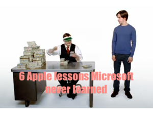 6 lessons microsoft never learned from apple
