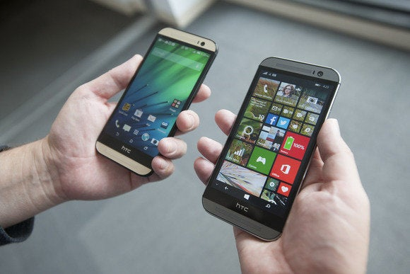 htc one windows android