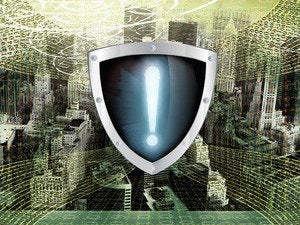 security alert shield protect