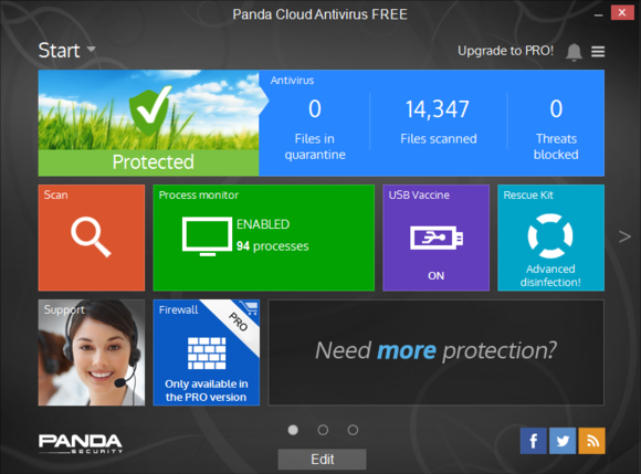 Panda Software free antivirus