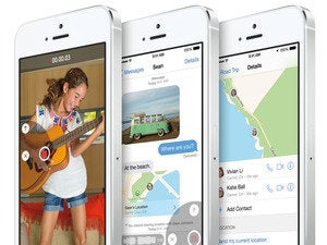 Apple iOS 8 messaging features on the iPhone