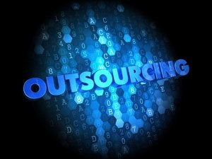 outsourcing blue glow