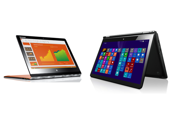 Lenovo recruits Ashton Kutcher to unveil its new Yoga 3 Pro and ThinkPad Yoga 14