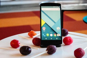 Android Lollipop smartphone mobile
