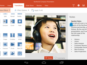 Office for Android Microsoft PowerPoint templates