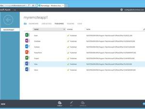 Microsoft's Azure RemoteApp service