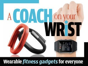 A coach on your wrist: Wearable fitness gadgets for everyone