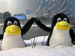 linux high five