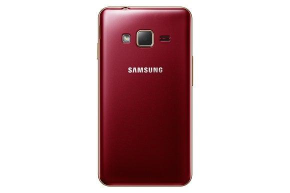 samsung z1 back red