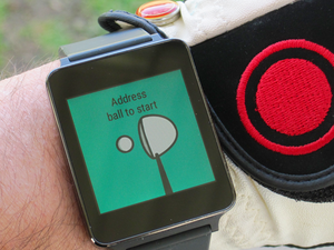 android wear golf apps