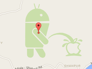 google maps pee android