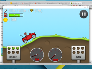 hill climber from android ARC Welder