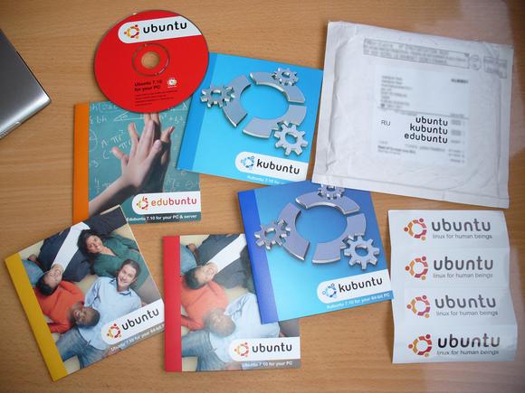 ubuntu offshoot discs