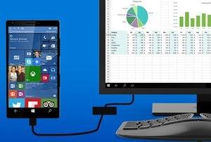 windows 10 phones continuum
