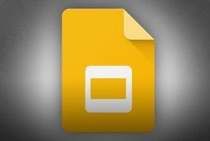 google slides logo standard