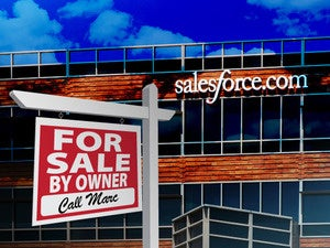 Salesforce for sale?