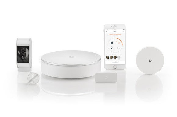 Myfox home alarm and camera