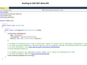 Routing in Web Api