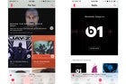 apple music side by side