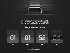 Samsung countdown
