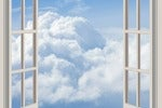 open windows with clouds 164757 1280