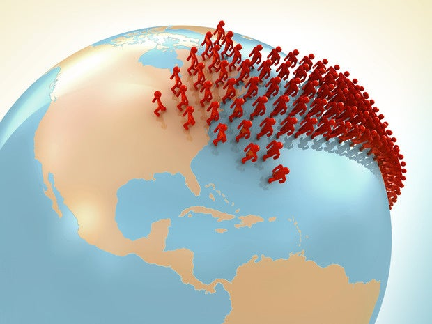 Outsourcing crowd moving toward the United States