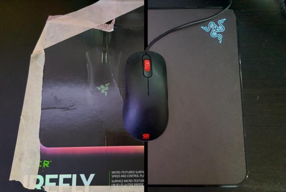 Razer Firefly split
