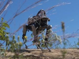 Boston Dynamics Spot robot at Quantico