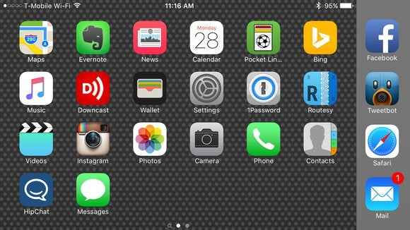 landscape iphone plus