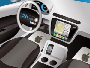 Apple car rendering