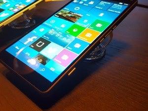 Lumia 950XL camera button