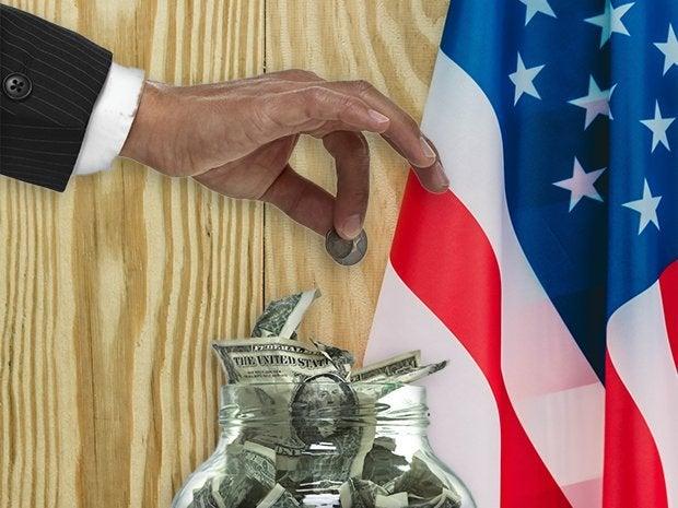 election contribution