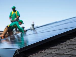 SolarCity solar panels