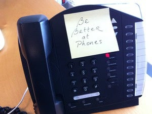 the list phones in workplace