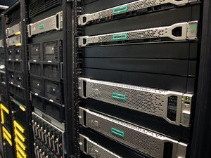 Hewlett Packard Enterprise servers