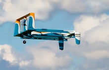 Amazon Prime Air drone deliveries take flight in UK